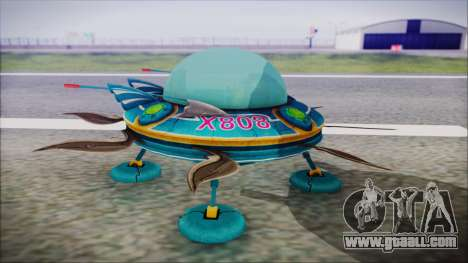 X808 UFO for GTA San Andreas right view