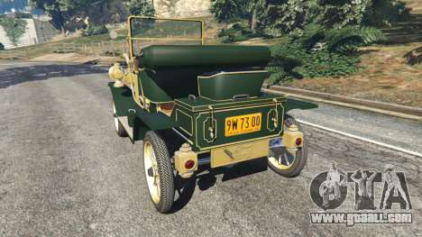 Ford Model T [one color] for GTA 5