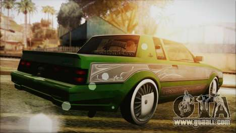 GTA 5 Faction LowRider DLC for GTA San Andreas left view
