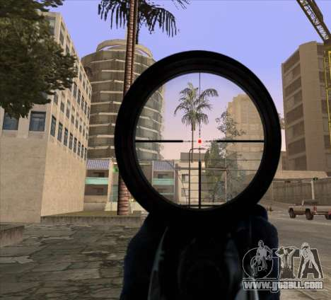 Sniper Scope v2 for GTA San Andreas second screenshot
