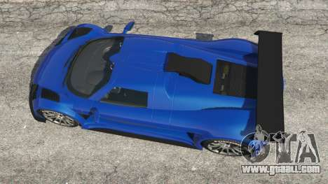 GTA 5 Gumpert Apollo S back view