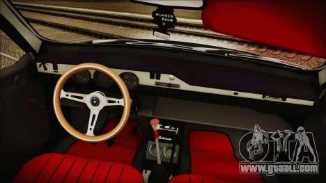 Dacia 1301LS GFB for GTA San Andreas back view