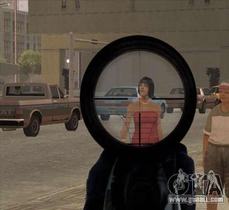 Sniper Scope v2 for GTA San Andreas forth screenshot
