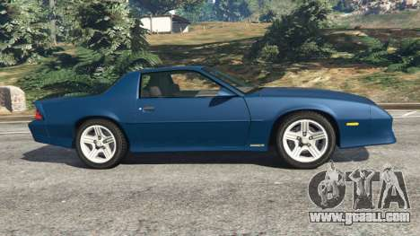 GTA 5 Chevrolet Camaro IROC-Z [Beta 3] left side view