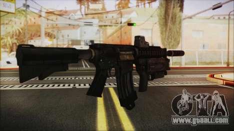 M4 SpecOps for GTA San Andreas second screenshot