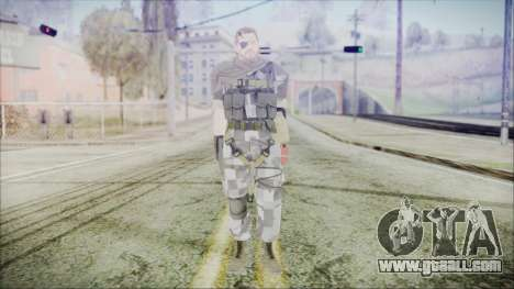 MGSV Phantom Pain Snake Scarf Square for GTA San Andreas second screenshot