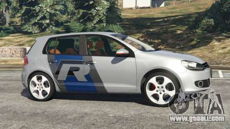 GTA 5 Volkswagen Golf Mk6 v2.0 [WRC Polo] left side view