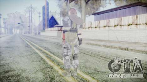 MGSV Phantom Pain Snake Scarf Square for GTA San Andreas third screenshot