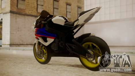 BMW S1000RR Limited for GTA San Andreas left view