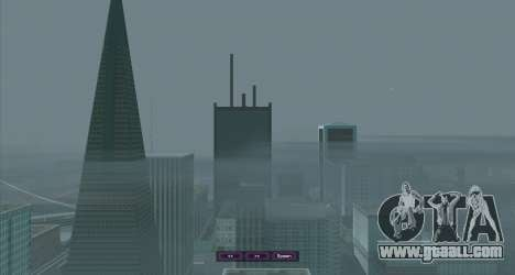 SampGUI Violet for GTA San Andreas third screenshot