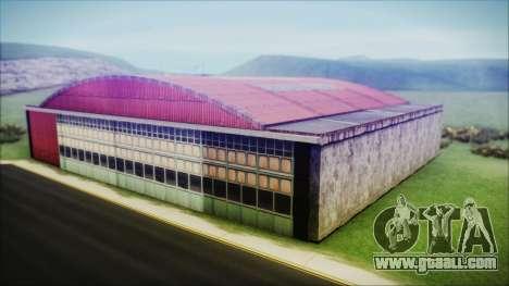 HD Desert Hangar Mipmapped for GTA San Andreas third screenshot