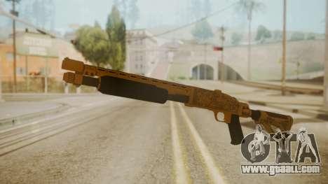 GTA 5 Pump Shotgun for GTA San Andreas