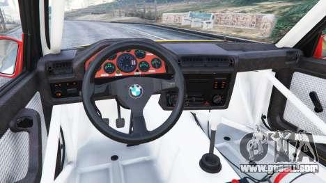 GTA 5 BMW M3 (E30) 1991 [10 strikes] v1.2 right side view