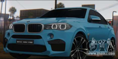 BMW X6M F86 v2.0 for GTA San Andreas