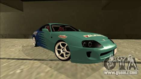 Toyota Supra Falken Drift for GTA San Andreas right view