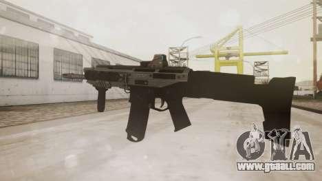 Bushmaster ACR Silver for GTA San Andreas second screenshot