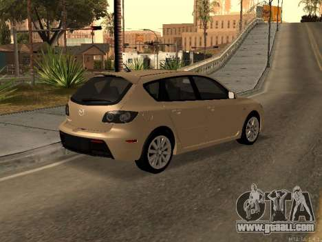 Mazda 3 MPS Tunable for GTA San Andreas left view