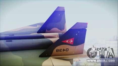 Mikoyan MIG 1.44 Flatpack Venezuelan Air Force for GTA San Andreas back left view