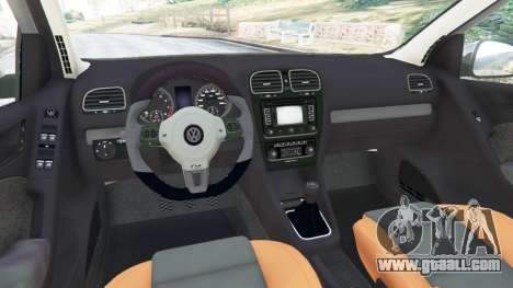 GTA 5 Volkswagen Golf Mk6 v2.0 right side view