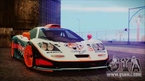McLaren F1 GTR 1998 for GTA San Andreas