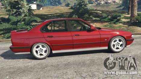 GTA 5 BMW M5 (E34) 1991 left side view