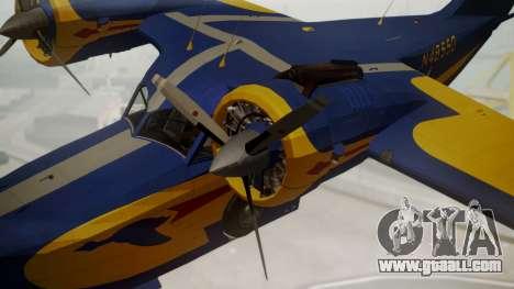 Grumman G-21 Goose N48550 for GTA San Andreas right view