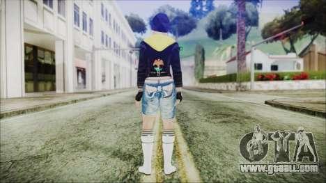 Home Girl New Chola for GTA San Andreas third screenshot