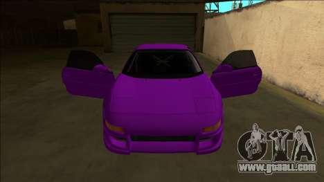Toyota MR2 Drift for GTA San Andreas interior
