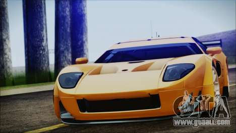 Ford GT-R mk.7 for GTA San Andreas