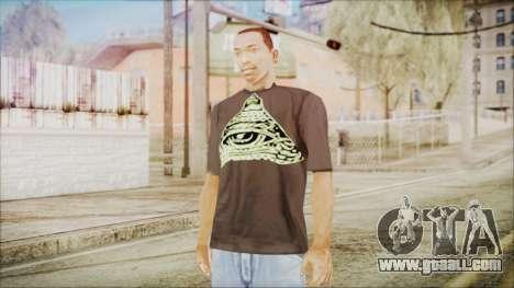 Illuminati T-Shirt for GTA San Andreas