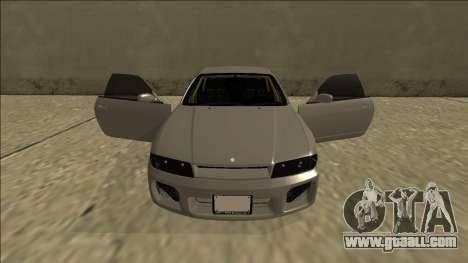 Nissan Skyline R33 Drift for GTA San Andreas interior