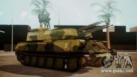 ZSU-23-4 Shilka for GTA San Andreas