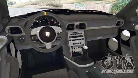 Porsche 911 (997) GT3 RS 2007 for GTA 5