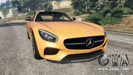 Mercedes-Benz AMG GT 2016 v2.0 for GTA 5