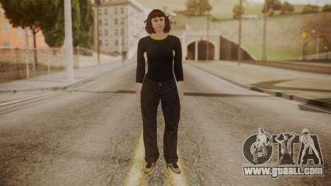 GTA Online - Custom Girl (Lowrider DLC Clothes) for GTA San Andreas second screenshot