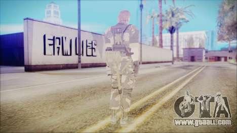 MGSV Phantom Pain Snake Normal Splitter for GTA San Andreas third screenshot