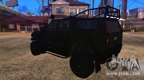 Komatsu LAV 4x4 Unarmed for GTA San Andreas