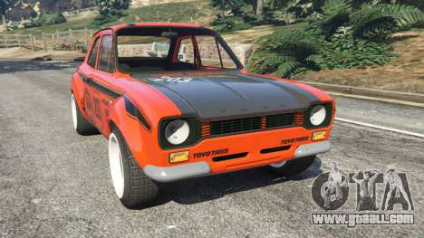 Ford Escort MK1 v1.1 [HRE] for GTA 5