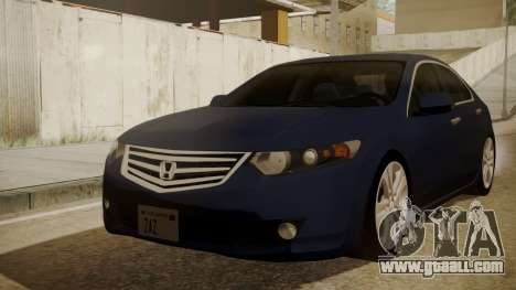 Honda Accord 2010 for GTA San Andreas
