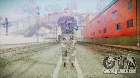 MGSV Phantom Pain Snake Scarf Splitter for GTA San Andreas second screenshot