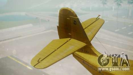 Grumman G-21 Goose VHLXD for GTA San Andreas back left view