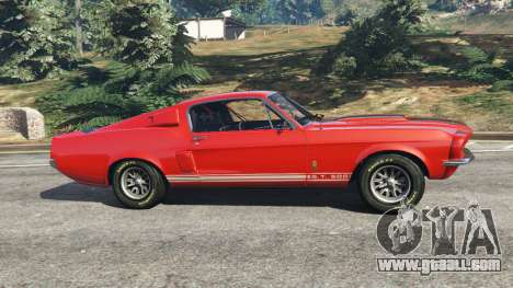 Shelby Mustang GT500 1967 [LowRiders] for GTA 5
