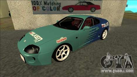 Toyota Supra Falken Drift for GTA San Andreas