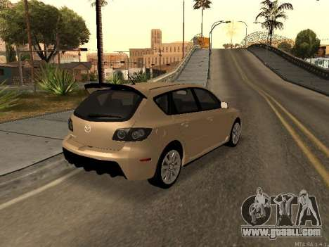 Mazda 3 MPS Tunable for GTA San Andreas right view