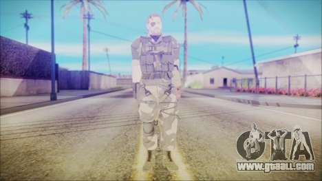 MGSV Phantom Pain Snake Normal Splitter for GTA San Andreas second screenshot