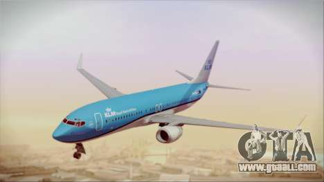 Boeing 737-800 KLM Royal Dutch Airlines for GTA San Andreas