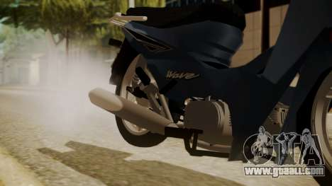 Honda Wave for GTA San Andreas right view