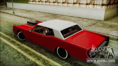 GTA 5 Vapid Chino Custom IVF for GTA San Andreas left view