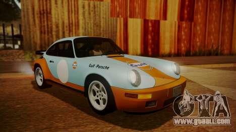 RUF CTR Yellowbird (911) 1987 HQLM for GTA San Andreas upper view