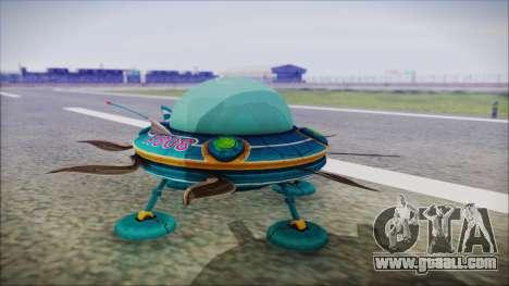 X808 UFO for GTA San Andreas